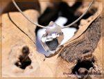 Herkimer Diamant Kristall gebohrt