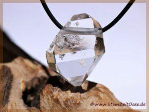 Herkimer Diamant XXL Kristall gebohrt