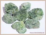 Diopsid grün Rohsteine