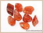 Hessonit-Granat Trommelsteine