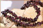 Granat rot Splitterkette