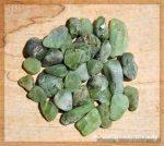 Peridot Wassersteine / Rohsteine