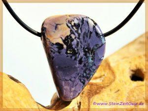 Fluorit-Opal (Tiffany Stone) Schmuckstein gebohrt