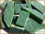 Nephrit-Jade Wassersteine Rohsteine Scheibensteine