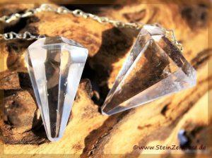Bergkristall Pendel