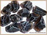 Rauchquarz dunkel Morion Wassersteine / Rohsteine / Kristalle / Kristallstab / Kristallstäbe
