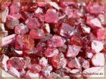 Rhodolith (Granat) Kristalle / Rohsteine / Granulat
