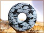 Schneeflockenobsidian Donut