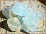 Topas blau natur Rohkristalle Wassersteine