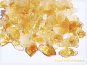 Citrin Kristalle / Rohsteine (gebr.)